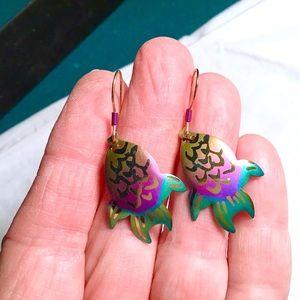 ❇️Vintage Holly Yashi Earrings